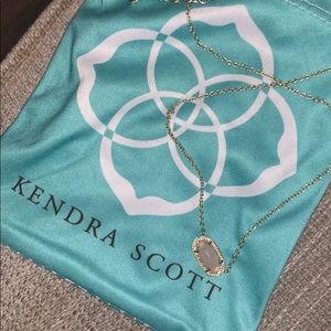 Kendra Scott Pink Pendant Necklace